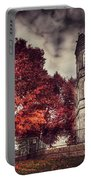 White Tower Of Autumn Portable Battery Charger
