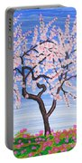 White Tree, Painting Portable Battery Charger