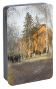 White Trees And Honka Portable Battery Charger