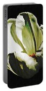 White Tulip Portable Battery Charger