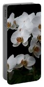 White Velvet Portable Battery Charger