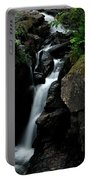 White Water Black Rocks Portable Battery Charger
