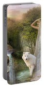 White Wolf Falls Portable Battery Charger