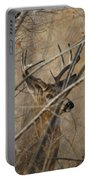 Whitetail Buck Square Portable Battery Charger