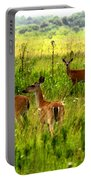 Whitetail Deer Family Portable Battery Charger