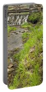Whitewater Bridge And Dam Scene 13 Portable Battery Charger