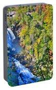 Whitewater Falls North Carolina Portable Battery Charger