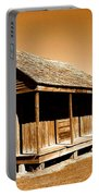Whitney Plantation Slave Cabins Portable Battery Charger