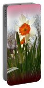 Who Planted Those Flowers Portable Battery Charger