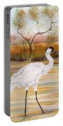 Whooping Cranes-jp3156 Portable Battery Charger