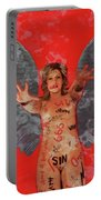 Whore Of Babylon By Mb Portable Battery Charger