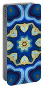Whorl Kaleidoscope Portable Battery Charger