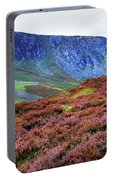 Wicklow Heather Carpet Portable Battery Charger