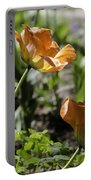 Wide Open Tulips Portable Battery Charger