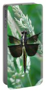 Widow Skimmer Dragonfly Portable Battery Charger