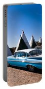 Wigwam Motel Classic Car #6 Portable Battery Charger