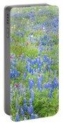 Wild About Wildflowers Of Texas. Portable Battery Charger