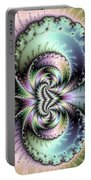 Wild And Crazy Fractal Art Vertical Portable Battery Charger