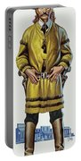 Wild Bill Hickok Portable Battery Charger