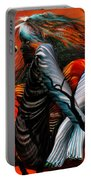 Wild Birds Portable Battery Charger by Carol Cavalaris