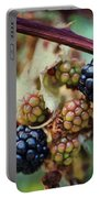 Wild Blackberries Portable Battery Charger