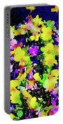 Wild Blossoms Portable Battery Charger
