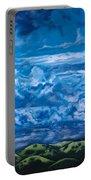 Wild Blue Portable Battery Charger by Joel Tesch