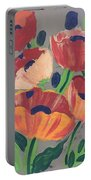 Wild Bouquet Portable Battery Charger