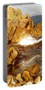 Wild California Coast - Modern Art Portable Battery Charger