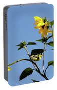 Wild Canary Sunflowers Portable Battery Charger