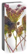 Wild Carrot Portable Battery Charger