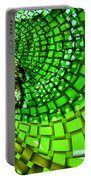 Wild Curves Abstract Portable Battery Charger