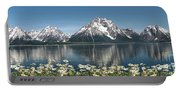 Wild Daisies In The Tetons Portable Battery Charger