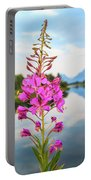 Wild Flower Portable Battery Charger