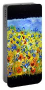 Wild Flowers 677130 Portable Battery Charger