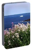 Wild Flowers And Iceberg Portable Battery Charger