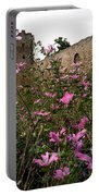 Wild Flowers At The Old Fortress Portable Battery Charger