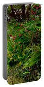 Wild Flowers On The Cliff Path Portable Battery Charger