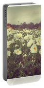 Wild Flowers Soft Portable Battery Charger