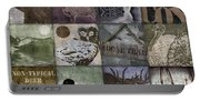 Wild Game Patchwork II Portable Battery Charger