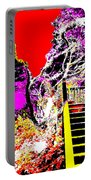 Wild Goddess At Kashi Portable Battery Charger by Eikoni Images