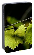 Wild Grape Leaves Portable Battery Charger