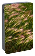 Wild Grasses Portable Battery Charger