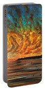Wild Hearted Sun - Santa Cruz Portable Battery Charger by Joel Tesch