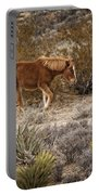 Wild Horse At Cold Creek Portable Battery Charger
