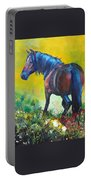 Wild Horse On Dartmoor - Roaming Free Portable Battery Charger