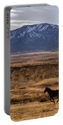 Wild Horse On The Run Portable Battery Charger