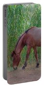 Wild Horses At Twilight Portable Battery Charger