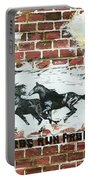 Wild Horses Running  Portable Battery Charger