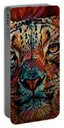 Wild Leopard Portable Battery Charger